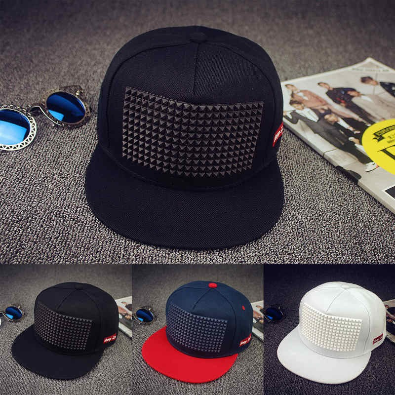 Cap Hats Baseball-Cap Hip-Hop-Cap Plastic Triangle Women Hot-Sale for And 5-Colors Flat-Brimmed
