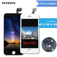 5pcs Lot Factory Supply AAA No Dead Pixel Pantalla For IPhone 4S 5 5S 6 6S