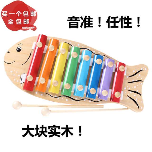 Orff S Musical Instruments Musical Instrument Toy Wooden Hand Knock
