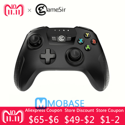 NEW GameSir T2a Bluetooth 2.4G Wireless wired nes'Gamepad Game Controller snesJoystick for Android Windows TV Box