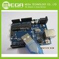 Frete grátis com rastreamento NÃO. 1 lote = 2 conjunto de mais recente! placa de desenvolvimento UNO R3 MEGA328P ATMEGA16U2 + Cabo USB