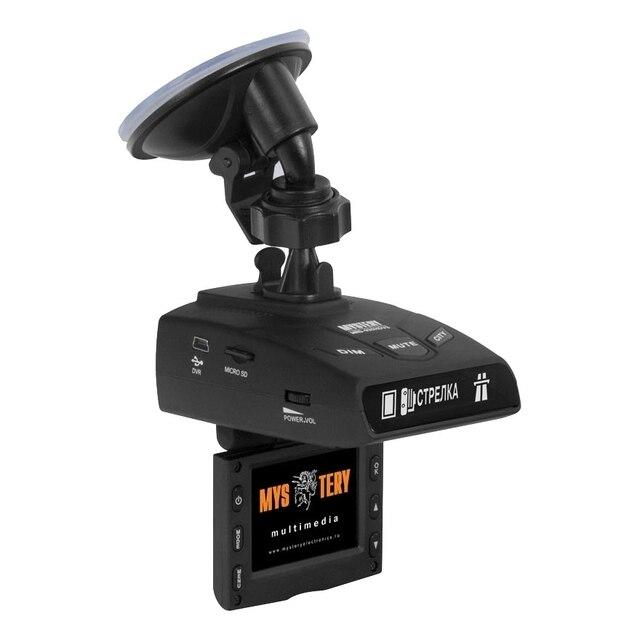 """Видеорегистратор-радар MYSTERY MRD-930HDVSG(2""""дисплей, максимальное разрешение камеры: видео 1920x1080, Обнаружение сигналов радаров в диапазонах X/UltraX, K/UltraK, Ka, Обнаружение радаров Стрелка-СТ/М. Отключен"""