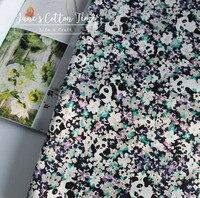 Chegou novo tecido de algodão panda impressão suave tecido liberdade impresso vestuário têxtil material tecido da cama 100% algodão