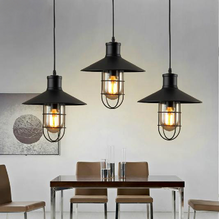Lamp Industrial Shades Cage