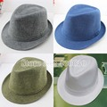 Summer Straw Fedora Hats For Women Panama Hat Mens Straw Trilby Sun Beach Caps 10pcs/lot Free Shipping CSDS-003