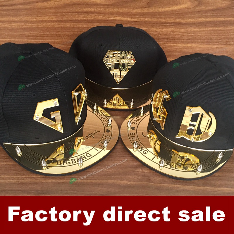 Fashion Korea Trendy Cool GD Bigbang G-dragon Spike Studs Rivet Kpop 3D acrylic Hat  Baseball hiphop Adjustable Cap 2017 bigbang 10th anniversary in japan made tour tae yang g dragon ins peaceminusone bone red baseball cap hiphop pet snapback