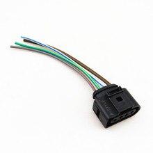 A-STYLE Carro harnes Fiação Plug Kit de Reparação do Conector Da Bobina de Ignição Para VW B5 Passat CC Eos Doce Golf A4 A6 1J0973724 1J0 973 724