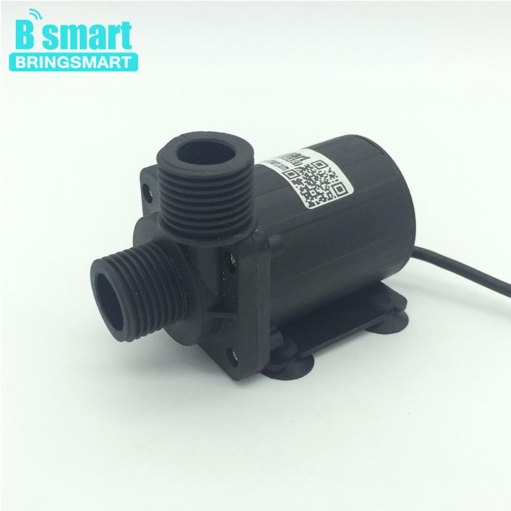 JT-800B 4 Point Screw Thread Whorl 1000L/H 7.5M 12V 24V DC Brushless Water Pump Water Heater Booster Pump With Flow Switch bta12 800b