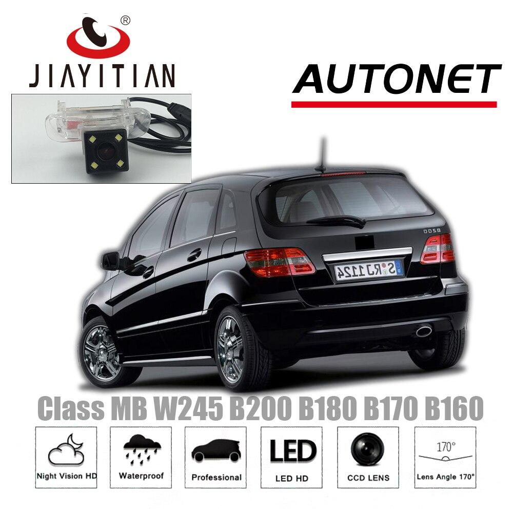 JiaYiTian Rear View Camera For Mercedes Benz B Class MB W245 B200 B180 B170 160/Parking Camera/Night Vision/License Plate Camera smart key for mercedes benz mb w245 2005 2011 b160 b180 b200 turbo b180 cdi b200 cdi b170 ngt car remote 315mhz 433mhz