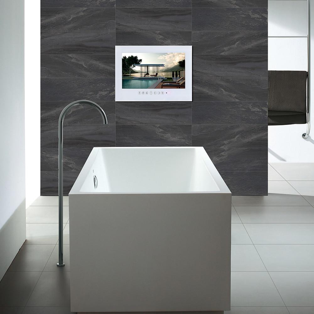 Guide Eclairage Salle De Bain ~ souria 15 6 pouce ip66 noir salle de bains tv led blanc tanche led