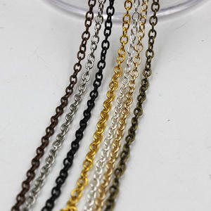 GHRQX 2--3mm Fitting Chains Necklace Gold/bronze Bracelets for Make 2-Meters/Lot Hot-Sell