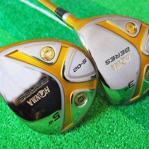 Image 2 - Cooyute nuevo mens Golf HONMA S 02 4 3/15 de 5/18 Fairway wood Golf con grafito mango de Golf de madera conjunto clubes envío gratis