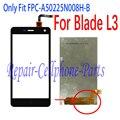 Preto 100% novo display lcd + touch screen digitalizador substituição para zte blade l3 go1 frete grátis