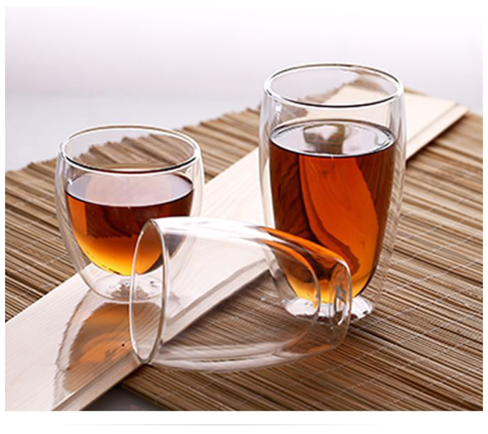 Heat Resistant Double Wall Glass CoffeeTea Cups And Mugs Travel Double Coffee Mugs With The Handle Mugs Drinking Shot Glasses  (5)