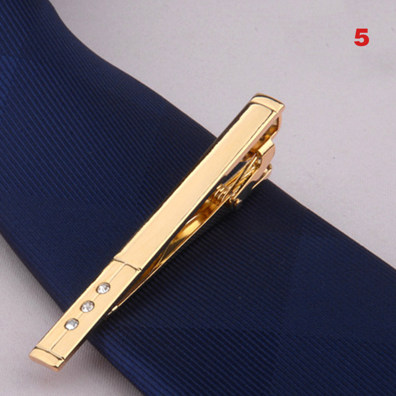New Arrival Men Metal Alloy Tie Clip Clamp Necktie Bar Clasp Wedding Bridegroom Business Fashion Formal Gifts
