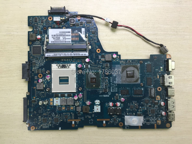 Free Shipping K000104390 LA-6062P for Toshiba Satellite A660 A665 series  Laptop Motherboard .All functions 100% fully Tested !