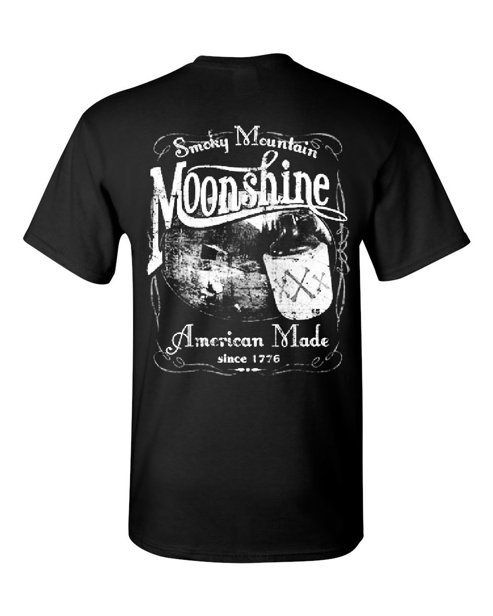 Smoky Mountain Moonshine T-Shirt Tennessee Whiskey Tee Shirt Cool Casual pride t shirt men Unisex Fashion tshirt free shipping image