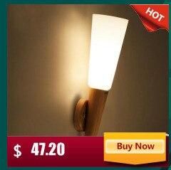 Modern LED Lâmpada de Parede de Ferro