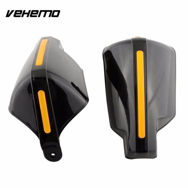 Vehemo новый черный 2 шт. Мотоцикл рукавицы Рука гвардии Защитные Мотоцикл Мотокросс Универсальный 22 мм Бар горячей
