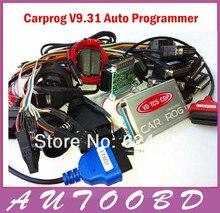 2017 CARPROG v9.31 Автомобильная прог полный программист (со всеми Программы для компьютера активации автомобиля радио/одометров/панели/Иммобилайзеры инструмент для ремонта