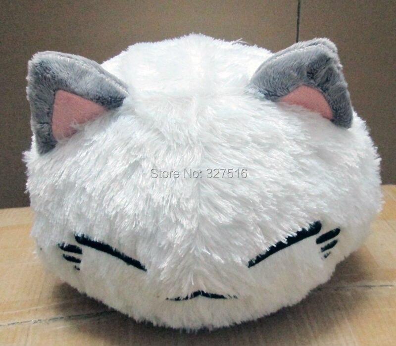 Опт и розница, мягкая плюшевая подушка для спящего кота из мультфильма nemuneko, милая подушка для кошки neko, 38 см, бесплатная доставка