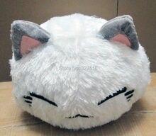 Wholesale and retail cartoon nemuneko sleeping cat soft plush doll toys cute neko styles cat pillow 38CM free shipping