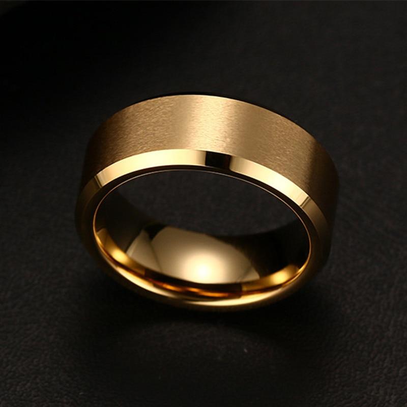 Мода 2017, очаровательное Ювелирное кольцо, мужские черные кольца из нержавеющей стали для женщин 5