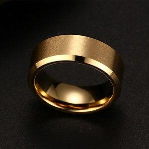 Мужское и женское кольцо из нержавеющей стали, черное, 2017