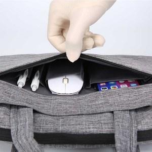 Image 2 - محمول شنطة لحمل macbook الهواء 13 حالة حقيبة لاب توب 15.6 دفتر حقيبة 14 15 بوصة حقيبة كتف لديل HP لينوفو Asus أيسر