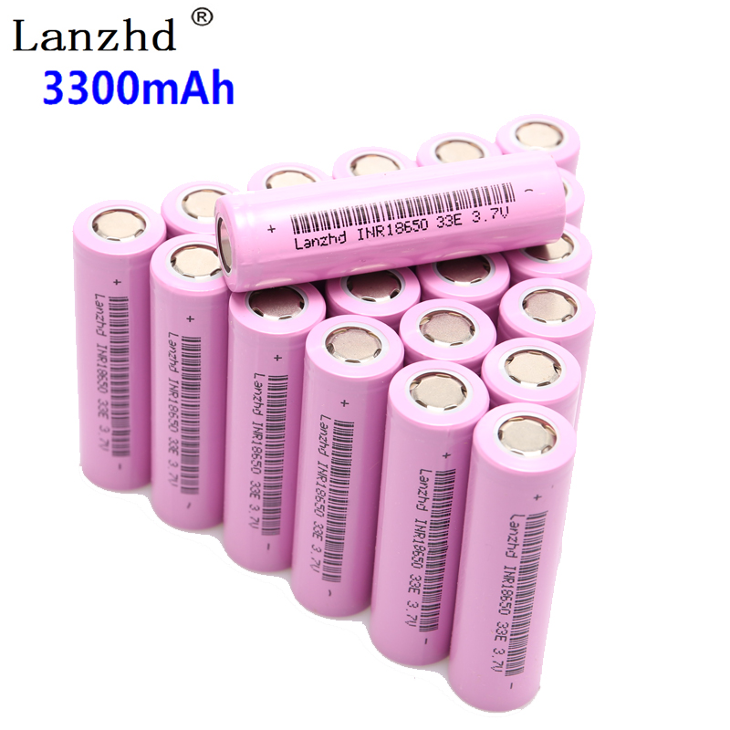 10~40PCS 18650 3.7V INR18650 Rechargeable batteries lithium li ion 3.7v 30a large current 18650VTC7 18650 battery цена