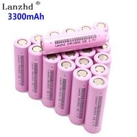 10~40PCS 18650 3.7V INR18650 Rechargeable batteries lithium li ion 3.7v 30a large current 18650VTC7 18650 battery