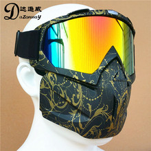 Free Size Paintball CS Tactical Protective Goggles Masks Motorcycle Safety Masks Skiing Goggles MTB Windproof Cycling