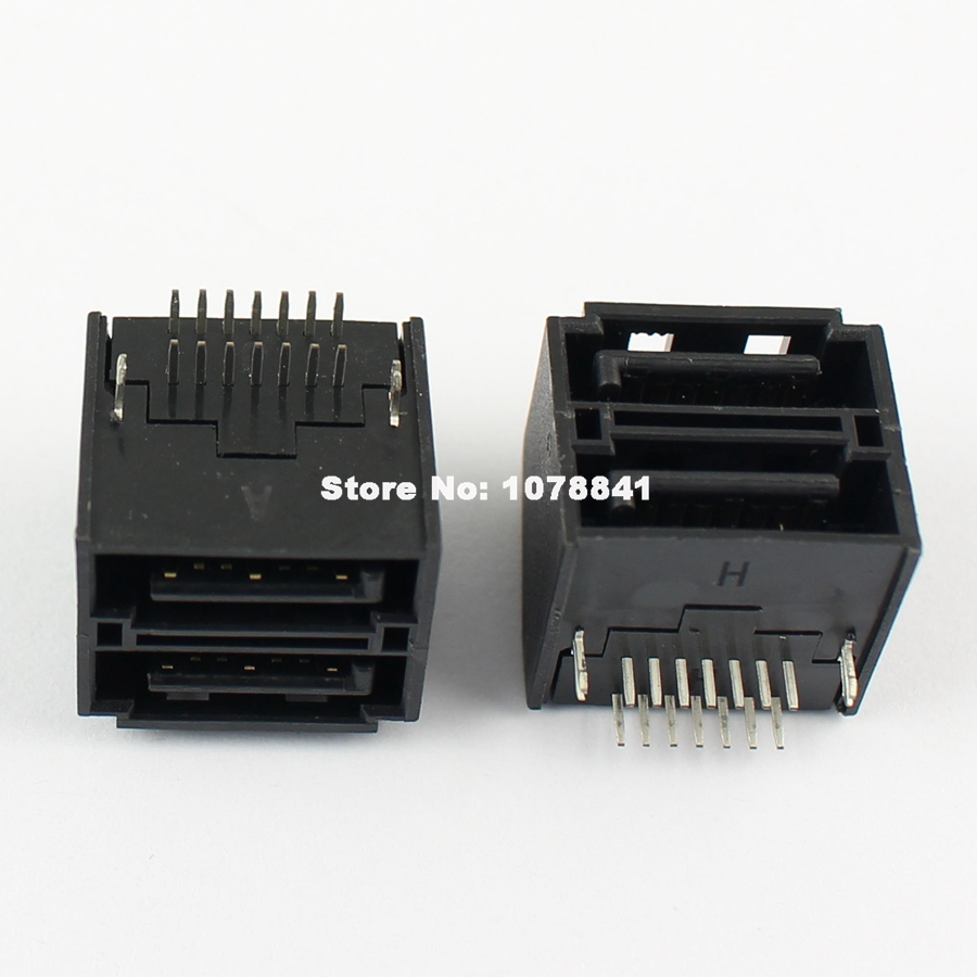 5Pcs Sata 15 Pin DIP Type Male Straight Adapter Connector For Hard Drive HDD