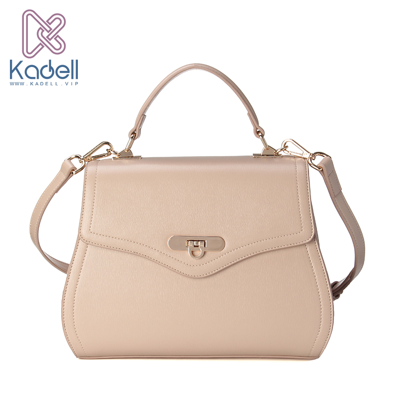 Kadell NEW Saddle Bag Woman PU Leather Handbag Fashion Brands Ladies Crossbody Bag Flap Shoulder Bags High Quality Beige bjmoto 2x motorbike saddlebags pu leather swingarm bag saddle bags side tool bags storage for harley sportster