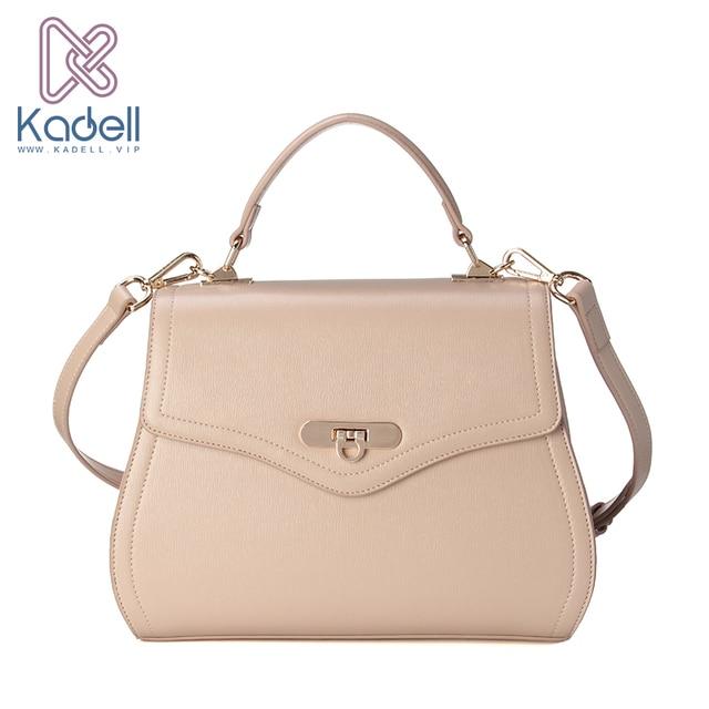 Kadell Новый седельная сумка женская обувь из искусственной кожи сумки модные бренды дамы кроссбоди мешок клапаном Сумки на плечо высокое качество бежевый