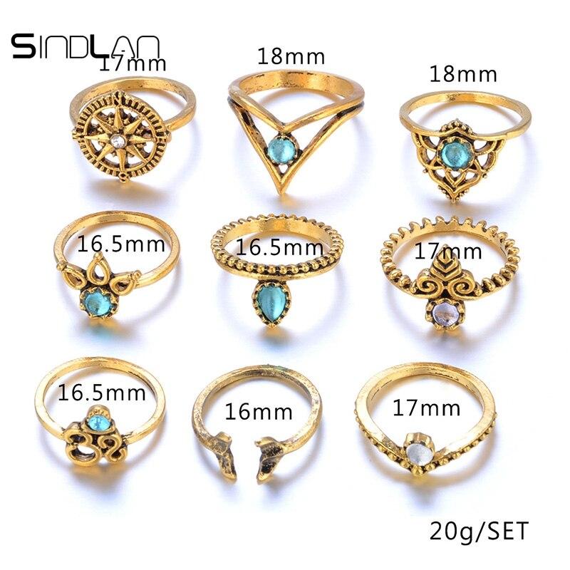 Նոր հարսանեկան զարդեր 9 հատ / Set Bohemian - Նորաձև զարդեր - Լուսանկար 5