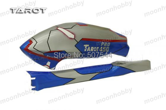 Tarot 450Pro Fuselage Blue Iron Man TL2847 Tarot 450PRO Parts Free Shipping with tracking tarot 500 parts 430mm carbin fiber blade tl50070 04 tarot 500 parts free shipping with tracking