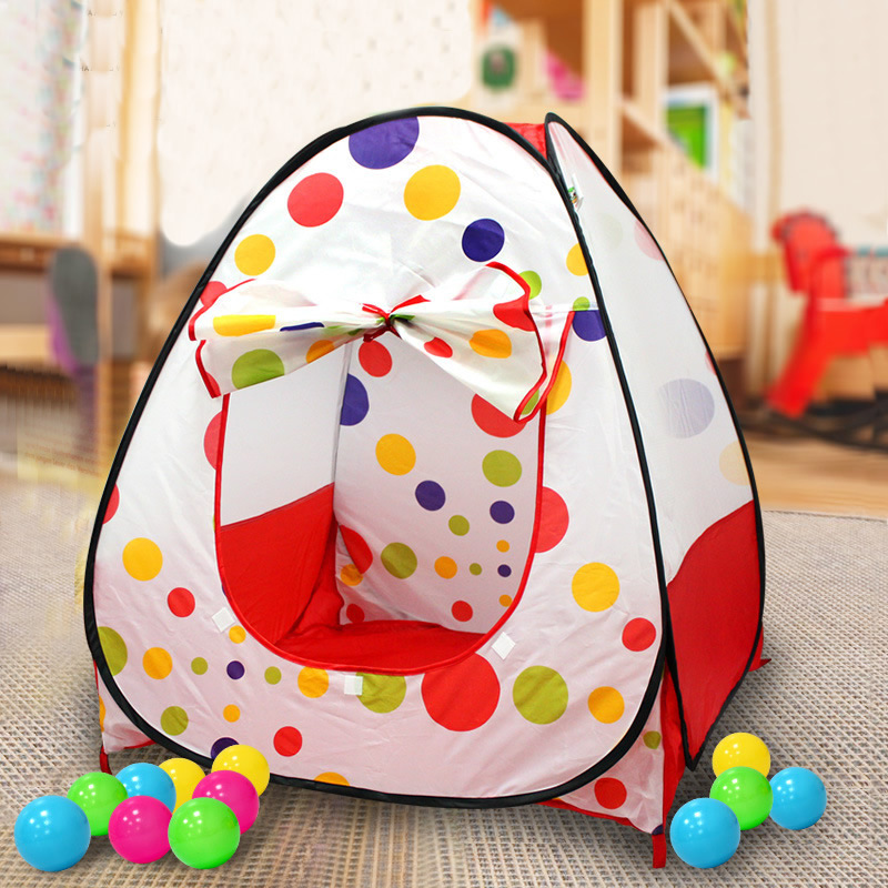 Polka Dots Childern Play Tent House For Kids Toys Tent Pop Up Kids Play Tent Indoor Outdoor Play Game House Birthday Gift ZP36-in Toy Tents from Toys ... & Polka Dots Childern Play Tent House For Kids Toys Tent Pop Up Kids ...
