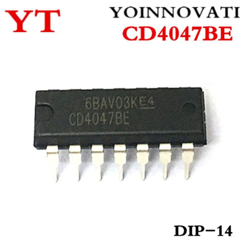 5 x CD4047 4047 IC CMOS Monostable Multivibrators FREE SHIPPING