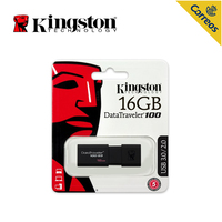 Kingston Technology USB 3.0 PenDrive 16GB USB Flash Drive Mental high speed Pendrive Stick Ring Memory Flash Memoria USB DT100G3
