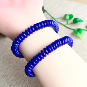 Image 3 - Natural Blue Lapis Lazuli Ellipse Stone Bracelet Crafts Beads 9/12mm Men Jewelry Gem Stone Bracelets for Women Gifts