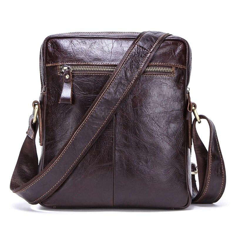 CONTACT'S prawdziwej skóry torba na ramię dla mężczyzn lato w stylu vintage torba na ramię zamek męskie biznesowe torby listonoszki dla 9.7in ipad na  Grupa 2