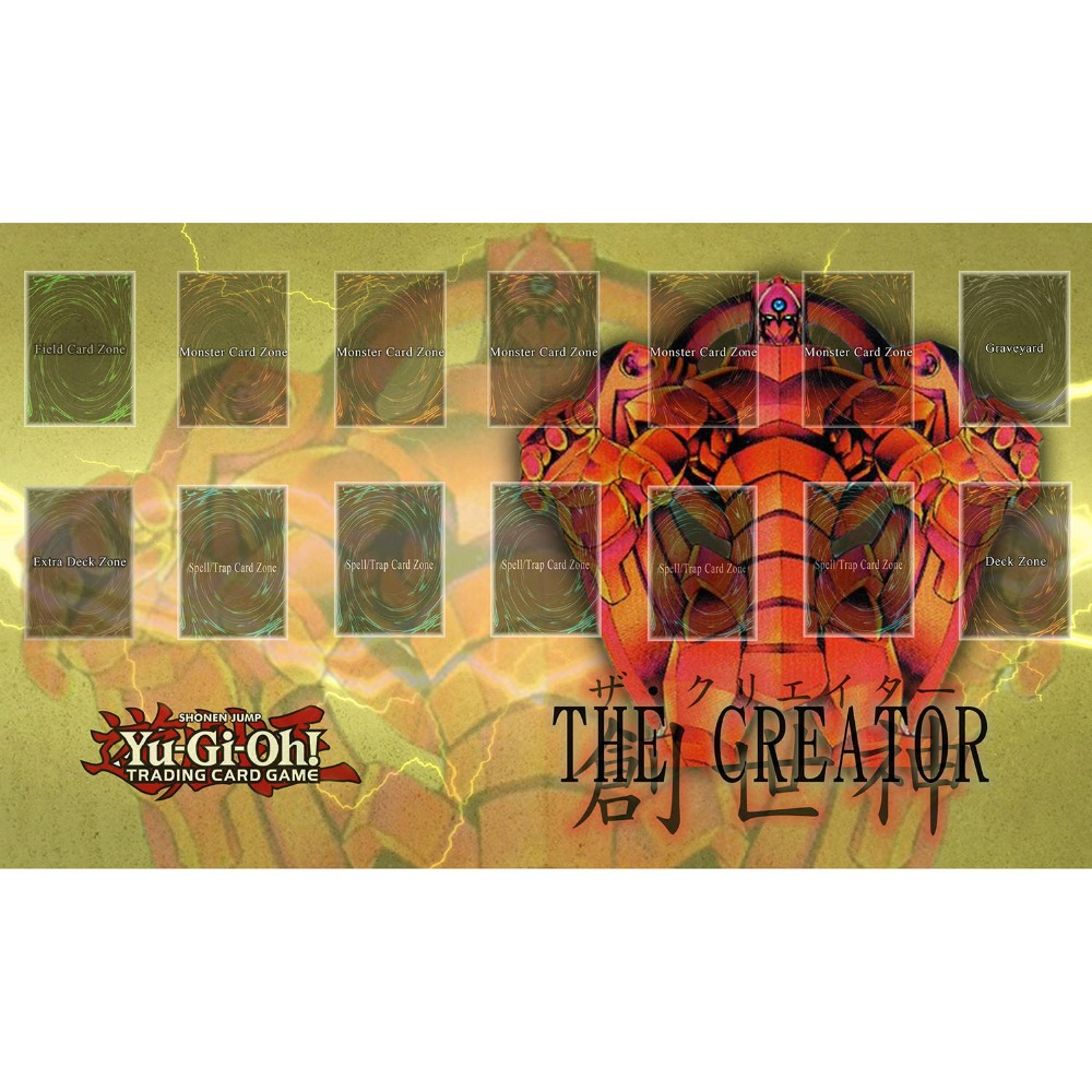 custom print yugioh trading card game playmat the creator playmat
