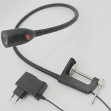 110V/220V/12V/24V Swan Pipe Clamp Led Machine Tool Lights