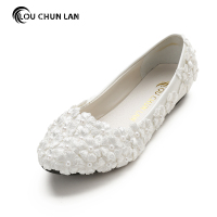 Handmade Wedding Shoes Bridal Shoes Wedding Shoes White Lace Bridesmaid Shoes Pumps