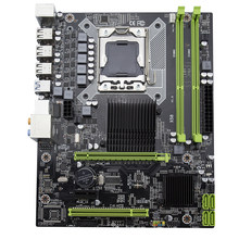 Kllisre X58 LGA 1366 motherboard support REG ECC server memory and xeon processor(China)