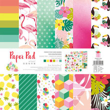 NEW! ENO Greeting Animal Party Paper Pad Scrapbooking Paper