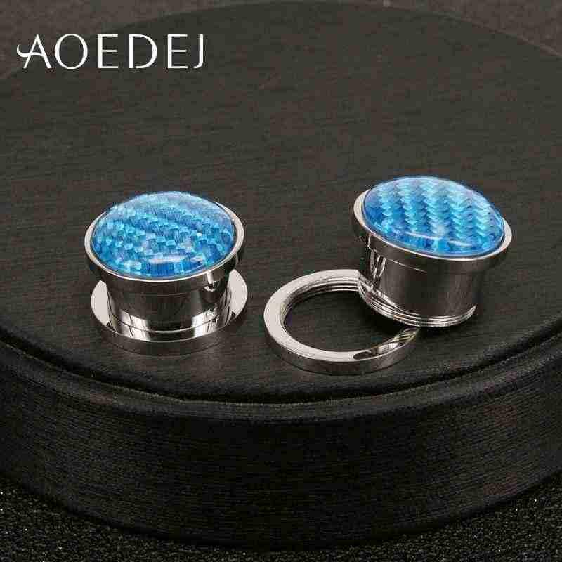 AOEDEJ 2 unids/lote de acero inoxidable joyería plug & Tunnel resina carne túnel 10mm Dilataciones oreja Piercing Piercings túneles