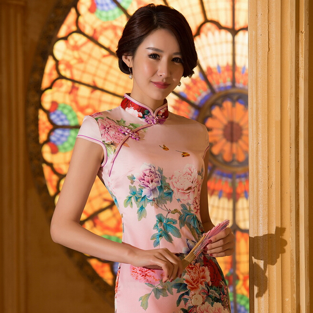 2016 Free shipping vestidos de fiesta cheongsam qipao traditional Chinese dress oriental dresses chinese qipao for women 3 style