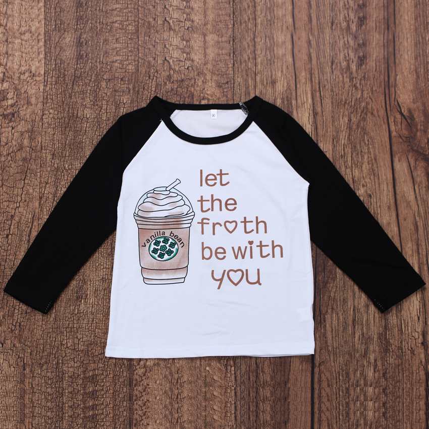 Seartist Boys Girls <font><b>Basic</b></font> T <font><b>Shirt</b></font> Boy Girl Long-sleeved Spring T-<font><b>shirt</b></font> Kids Coffee Cups Tee Tops <font><b>Baby</b></font> Boy Girl Clothes 2020 35 image